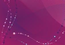 Fundo ondulado do Lilac Imagens de Stock Royalty Free