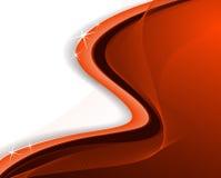 Fundo ondulado vermelho brilhante Imagem de Stock