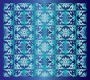Fundo oriental azul Imagens de Stock
