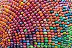 Fundo oriental dos ovos Imagens de Stock Royalty Free