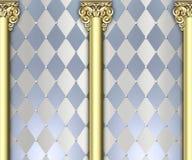Fundo ornamentado da coluna Fotos de Stock Royalty Free