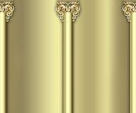 Fundo ornamentado da coluna Imagens de Stock Royalty Free