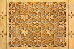 Fundo ornamentado da decoração da Índia Fotografia de Stock Royalty Free