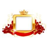 Fundo ornamentado do protetor Imagens de Stock Royalty Free