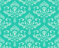 Fundo ornamentado sem emenda floral clássico. Imagem de Stock