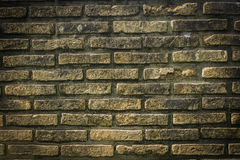 Fundo ou textura da parede de tijolo Imagens de Stock