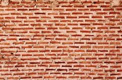 Fundo ou textura da parede de tijolo Parede de tijolo velha do vintage Imagem de Stock