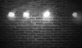 Fundo ou textura da parede de tijolo Parede de tijolo velha do vintage Fotografia de Stock Royalty Free