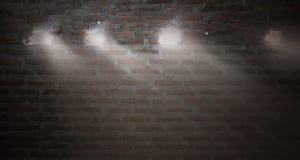 Fundo ou textura da parede de tijolo Parede de tijolo velha do vintage Imagens de Stock Royalty Free