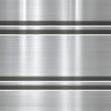 Fundo ou textura do metal ilustração do vetor