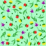 Backgroung floral ilustração royalty free