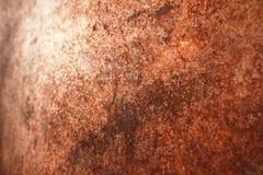 Fundo, oxidação em uma placa de metal foto de stock royalty free