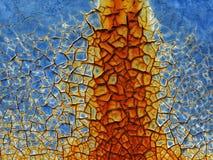 Fundo oxidado Imagem de Stock