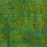 Fundo oxidado azul verde Fotos de Stock Royalty Free