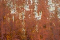 Fundo oxidado da textura da superfície de metal fotografia de stock