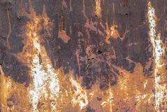 Fundo oxidado da textura da superfície de metal imagem de stock