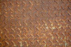 Fundo oxidado da textura do aço ou do metel Fotos de Stock
