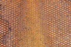 Fundo oxidado da textura do metal Foto de Stock