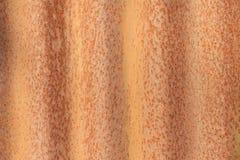 Fundo oxidado da textura do zinco Foto de Stock