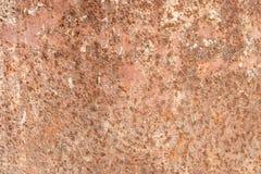 Fundo oxidado da textura, superf?cie abstrata de uma parede oxidada do ferro imagens de stock royalty free