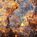Fundo oxidado do metal Fotos de Stock