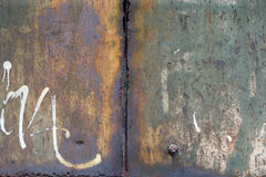 Fundo oxidado do metal do grunge Imagens de Stock Royalty Free