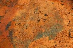 Fundo oxidado e velho com área vazia para o texto do apoio dano ou superfície da antiguidade da oficina da indústria corrosão do  fotografia de stock royalty free