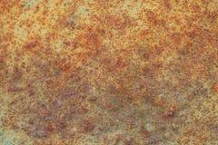 Fundo oxidado e velho com área vazia para o texto do apoio dano ou superfície da antiguidade da oficina da indústria corrosão do  imagem de stock