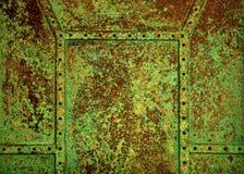 Fundo oxidado velho Imagens de Stock Royalty Free