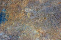 Fundo oxidado velho do ferro Foto de Stock