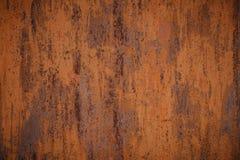 Fundo oxidado vestido escuro da textura do metal imagem de stock royalty free