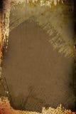 Fundo Painterly de Grunge Fotos de Stock
