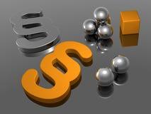 Fundo - parágrafo - 3D Imagens de Stock
