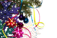 Fundo para cartões de Natal Foto de Stock Royalty Free