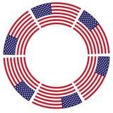 Fundo para a independência do feriado o 4 de julho Imagens de Stock