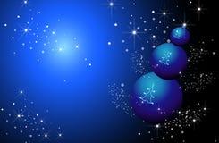 Fundo para o ano novo e o Natal Imagem de Stock
