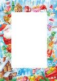 Fundo para o cartão de Natal Foto de Stock
