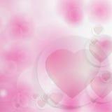 Fundo para o dia de Valentim com corações. Foto de Stock