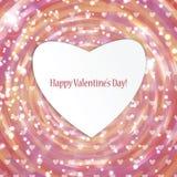 Fundo para o dia do Valentim Fotografia de Stock