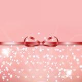 Fundo para o dia do Valentim Fotos de Stock Royalty Free