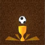 Copo do futebol Imagem de Stock Royalty Free