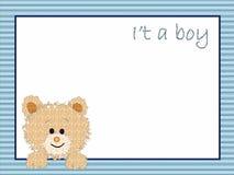 Fundo para o macho recém-nascido ilustração do vetor
