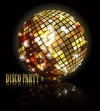 Fundo para o partido de disco Fotografia de Stock Royalty Free