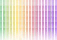 Fundo pastel do sumário da barra do pixel do arco-íris ilustração stock