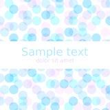 Fundo pastel do sumário da mola com copyspace para seu texto Ilustração EPS10 do vetor Imagens de Stock Royalty Free