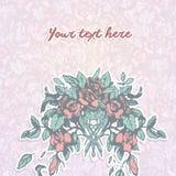 Fundo pastel floral Foto de Stock