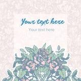Fundo pastel floral Imagem de Stock