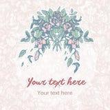 Fundo pastel floral Fotos de Stock Royalty Free