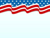 Fundo patriótico Foto de Stock