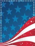 Fundo patriótico ilustração do vetor